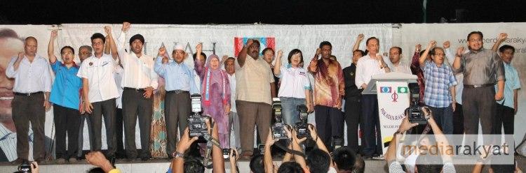 Senarai calon KEADILAN bagi parlimen dan DUN Perak